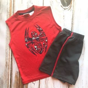 Marvel Spider-Man shirt and top outfit 4T XS